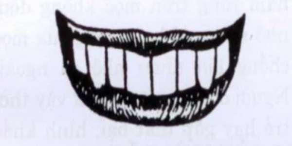 Xem tướng răng hổ