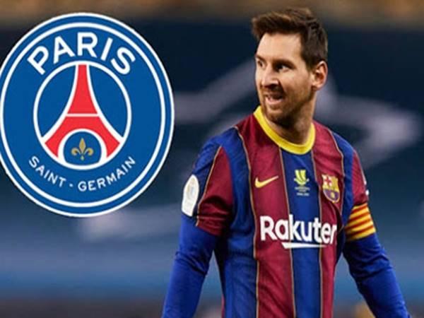 Messi có khả năng gia nhập PSG.