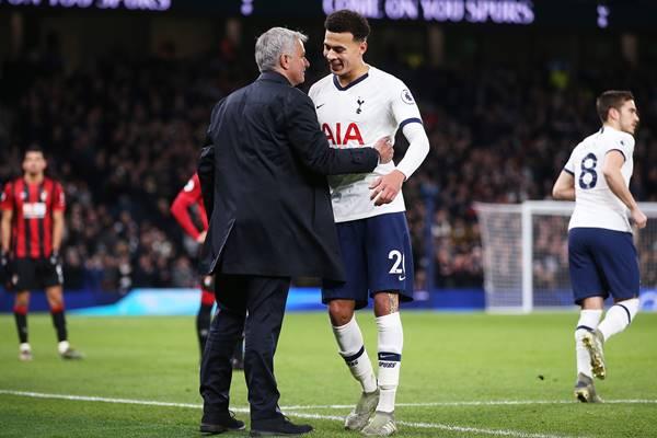 Mourinho hài lòng về màn trình diễn của Alli