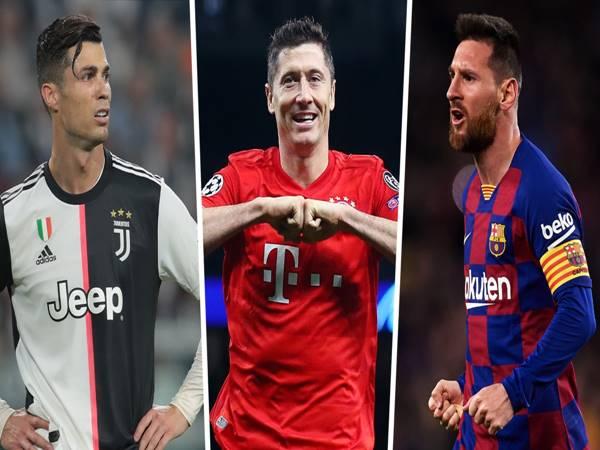 Top 5 cầu thủ ghi nhiều bàn nhất Champions League