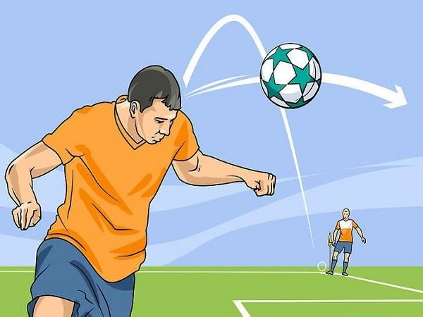 Hướng dẫn cách đỡ bóng bổng trong bóng đá