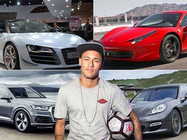 Chiêm ngưỡng dàn siêu xe đắt tiền trong khối tài sản của Neymar