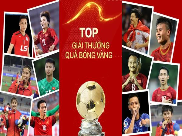 Quả bóng vàng Việt Nam qua các mùa