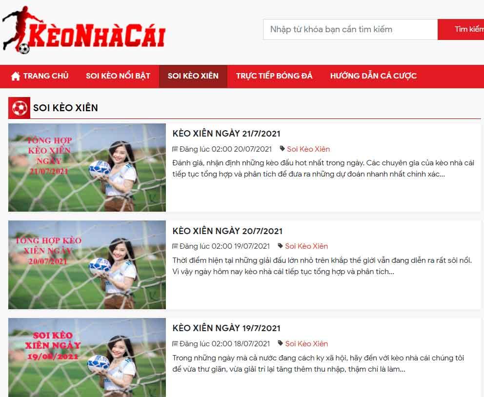 Khám phá của khách hàng khi cá độ online ở Kèo nhà cái