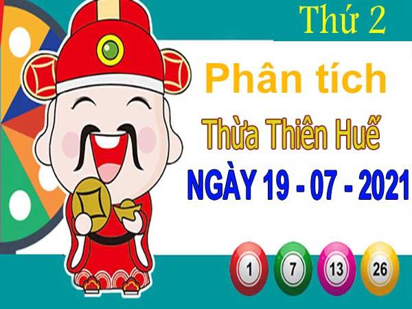 Phân tích XSTTH ngày 19/7/2021 - Phân tích xổ số Thừa Thiên Huế thứ 2